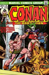 Cover Thumbnail for Conan the Barbarian (Marvel, 1970 series) #34 [Regular Edition]