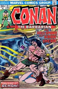 Cover Thumbnail for Conan the Barbarian (Marvel, 1970 series) #35 [Regular Edition]