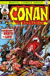Cover Thumbnail for Conan the Barbarian (Marvel, 1970 series) #41
