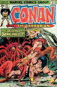 Cover Thumbnail for Conan the Barbarian (Marvel, 1970 series) #45 [Regular Edition]