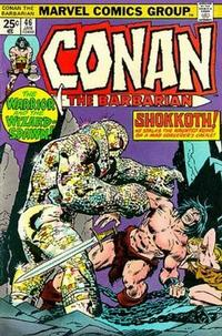 Cover Thumbnail for Conan the Barbarian (Marvel, 1970 series) #46 [Regular Edition]