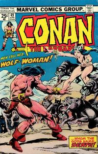 Cover Thumbnail for Conan the Barbarian (Marvel, 1970 series) #49 [Regular Edition]