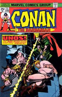 Cover Thumbnail for Conan the Barbarian (Marvel, 1970 series) #51 [Regular Edition]