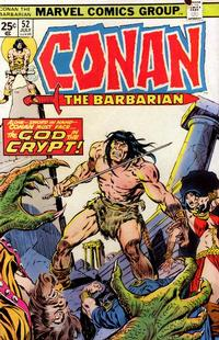 Cover Thumbnail for Conan the Barbarian (Marvel, 1970 series) #52 [Regular Edition]