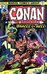 Cover Thumbnail for Conan the Barbarian (Marvel, 1970 series) #54
