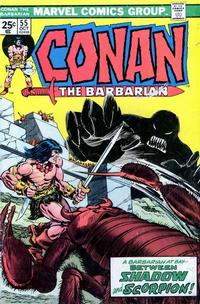 Cover Thumbnail for Conan the Barbarian (Marvel, 1970 series) #55