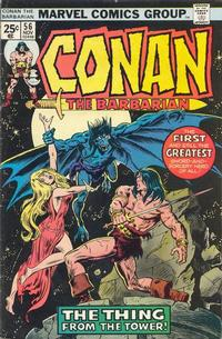 Cover Thumbnail for Conan the Barbarian (Marvel, 1970 series) #56