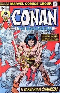 Cover Thumbnail for Conan the Barbarian (Marvel, 1970 series) #57 [Regular Edition]