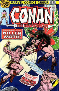 Cover Thumbnail for Conan the Barbarian (Marvel, 1970 series) #61 [25¢ Cover Price]