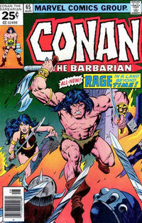 Cover Thumbnail for Conan the Barbarian (Marvel, 1970 series) #65 [Regular Edition]