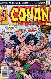 Cover Thumbnail for Conan the Barbarian (Marvel, 1970 series) #70 [Regular Edition]