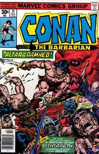 Cover Thumbnail for Conan the Barbarian (Marvel, 1970 series) #71 [Regular Edition]