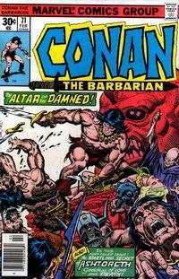 Cover Thumbnail for Conan the Barbarian (Marvel, 1970 series) #71 [Regular Edition]