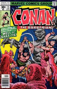 Cover Thumbnail for Conan the Barbarian (Marvel, 1970 series) #73 [Regular Edition]