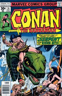 Cover Thumbnail for Conan the Barbarian (Marvel, 1970 series) #74 [Regular Edition]