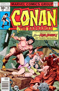 Cover Thumbnail for Conan the Barbarian (Marvel, 1970 series) #78 [30¢ Cover Price]