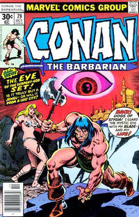 Cover Thumbnail for Conan the Barbarian (Marvel, 1970 series) #79 [30¢ Cover Price]