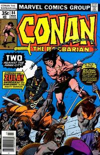 Cover Thumbnail for Conan the Barbarian (Marvel, 1970 series) #84