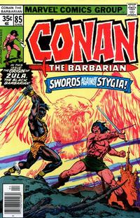 Cover Thumbnail for Conan the Barbarian (Marvel, 1970 series) #85