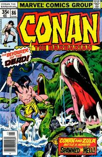 Cover Thumbnail for Conan the Barbarian (Marvel, 1970 series) #86