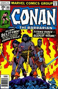 Cover Thumbnail for Conan the Barbarian (Marvel, 1970 series) #88