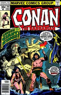 Cover Thumbnail for Conan the Barbarian (Marvel, 1970 series) #90 [Regular Edition]