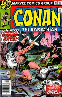 Cover Thumbnail for Conan the Barbarian (Marvel, 1970 series) #91