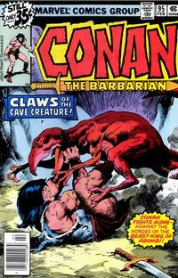 Cover Thumbnail for Conan the Barbarian (Marvel, 1970 series) #95 [Regular Edition]