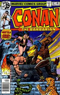 Cover Thumbnail for Conan the Barbarian (Marvel, 1970 series) #97