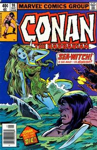 Cover Thumbnail for Conan the Barbarian (Marvel, 1970 series) #98 [Newsstand]