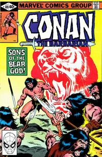 Cover Thumbnail for Conan the Barbarian (Marvel, 1970 series) #109 [Direct Edition]