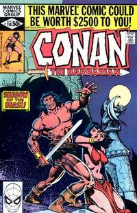 Cover Thumbnail for Conan the Barbarian (Marvel, 1970 series) #114 [Direct]