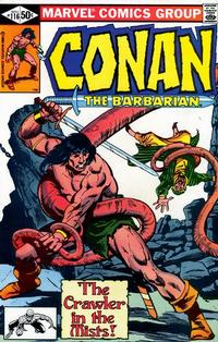 Cover Thumbnail for Conan the Barbarian (Marvel, 1970 series) #116 [Direct Edition]
