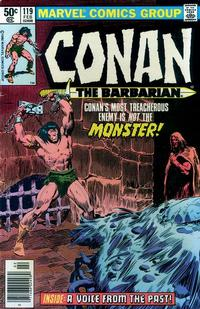 Cover Thumbnail for Conan the Barbarian (Marvel, 1970 series) #119 [Newsstand Edition]