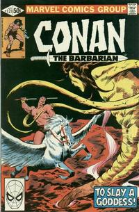 Cover Thumbnail for Conan the Barbarian (Marvel, 1970 series) #121 [Direct Edition]