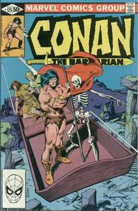 Cover Thumbnail for Conan the Barbarian (Marvel, 1970 series) #125 [Direct]