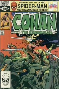 Cover Thumbnail for Conan the Barbarian (Marvel, 1970 series) #129 [Direct Edition]