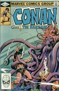 Cover Thumbnail for Conan the Barbarian (Marvel, 1970 series) #136 [Direct Edition]