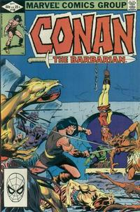 Cover Thumbnail for Conan the Barbarian (Marvel, 1970 series) #138 [Direct]