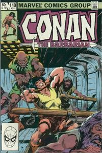 Cover Thumbnail for Conan the Barbarian (Marvel, 1970 series) #140 [Direct Edition]