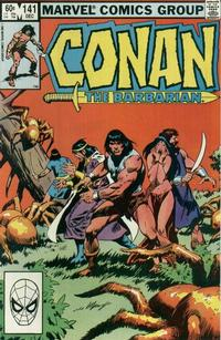 Cover Thumbnail for Conan the Barbarian (Marvel, 1970 series) #141 [Direct Edition]