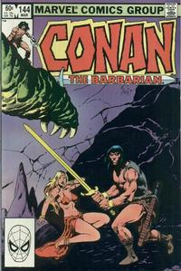 Cover Thumbnail for Conan the Barbarian (Marvel, 1970 series) #144 [Direct Edition]