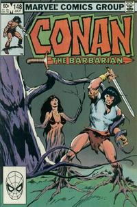 Cover Thumbnail for Conan the Barbarian (Marvel, 1970 series) #148 [Direct Edition]