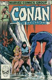 Cover Thumbnail for Conan the Barbarian (Marvel, 1970 series) #149 [Direct Edition]