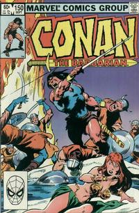 Cover Thumbnail for Conan the Barbarian (Marvel, 1970 series) #150 [Direct Edition]