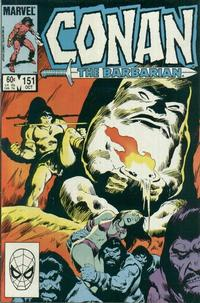 Cover Thumbnail for Conan the Barbarian (Marvel, 1970 series) #151 [Direct Edition]