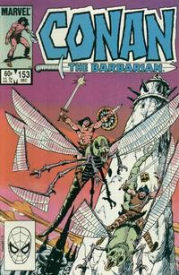 Cover Thumbnail for Conan the Barbarian (Marvel, 1970 series) #153 [Direct Edition]
