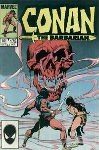 Cover Thumbnail for Conan the Barbarian (Marvel, 1970 series) #175 [Direct Edition]