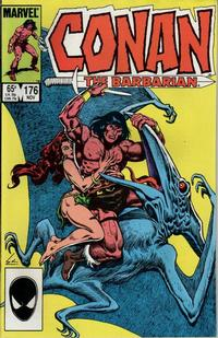 Cover Thumbnail for Conan the Barbarian (Marvel, 1970 series) #176 [Direct Edition]