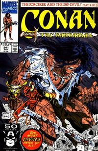 Cover Thumbnail for Conan the Barbarian (Marvel, 1970 series) #241 [Direct Edition]